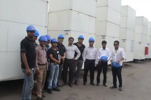 PEL team in DPA plant